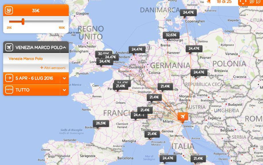 vce-easyjet-mapa