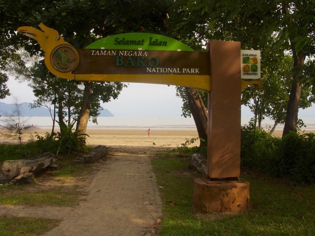 Vstop v nacionalni park Bako