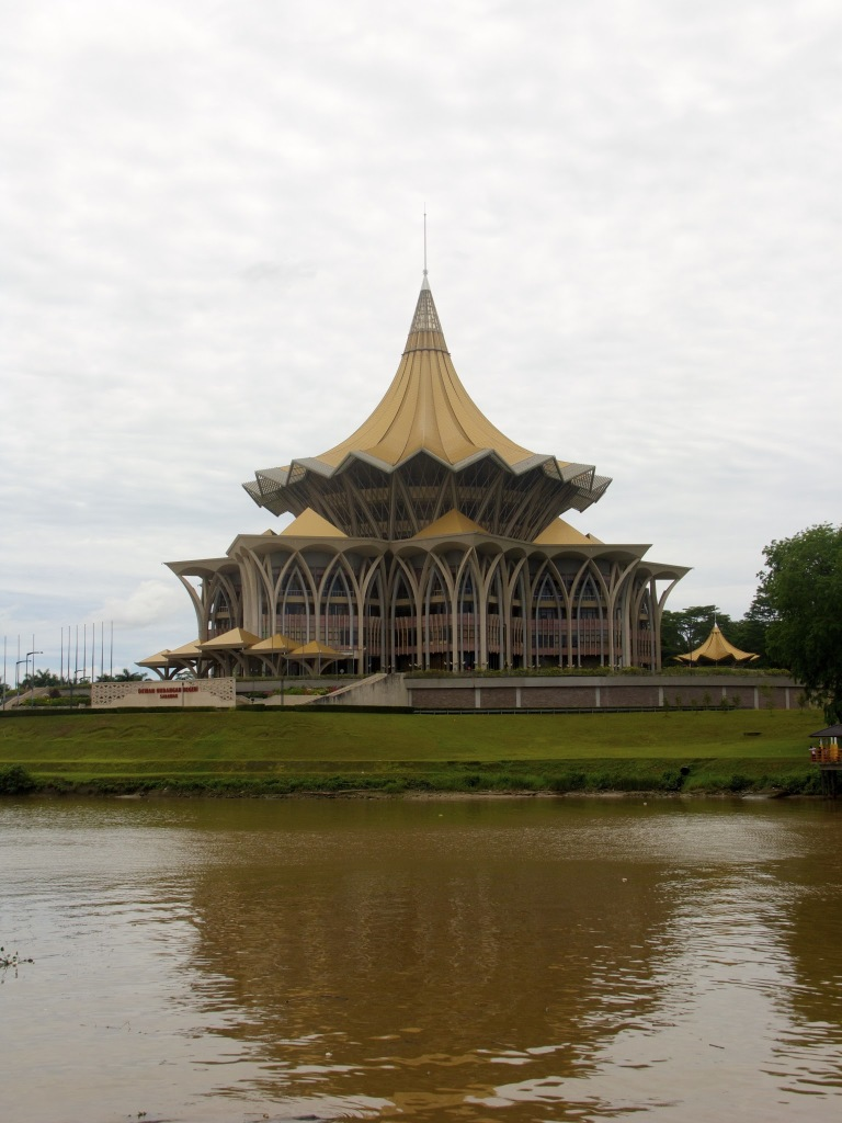 Stavba parlamenta okrožja Sarawak