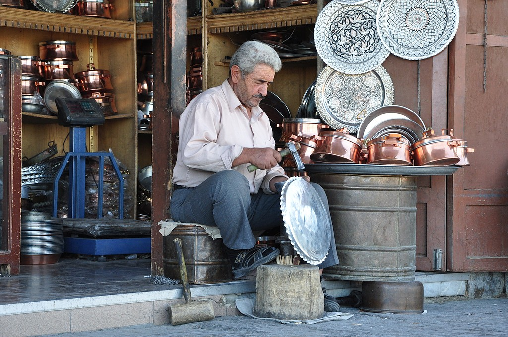 V Iranu so ročna dela še zmeraj zelo cenjena