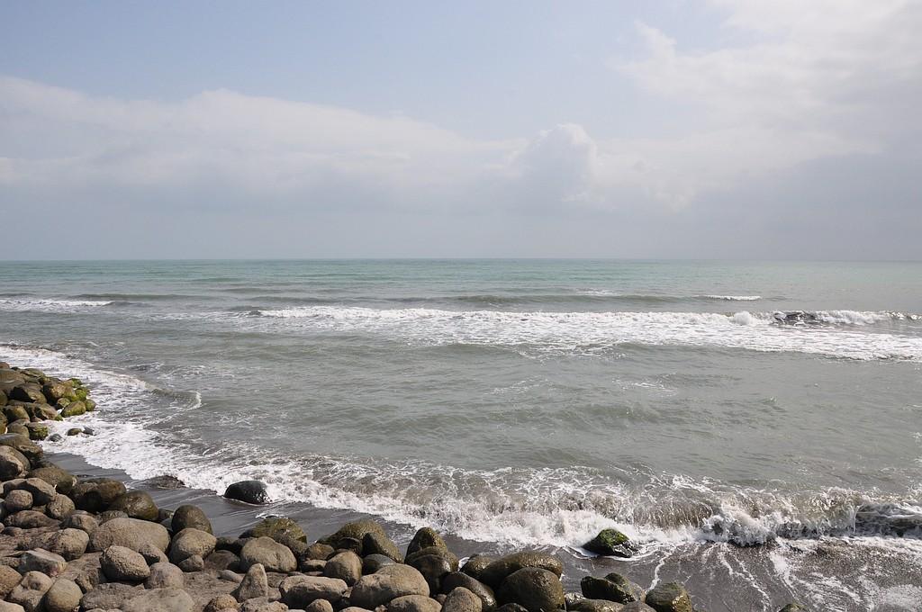Obala Kaspijskega jezera.