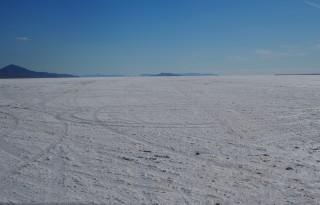 Boneville Great Salt desert