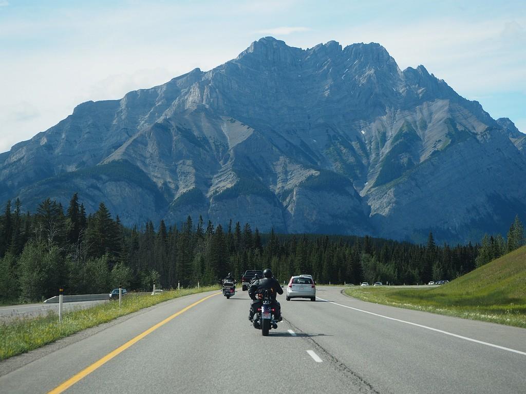 na poti v Banff