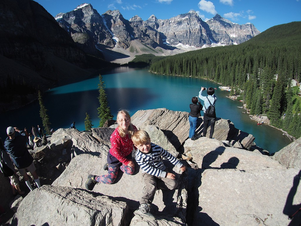 Banff Lake Moraine