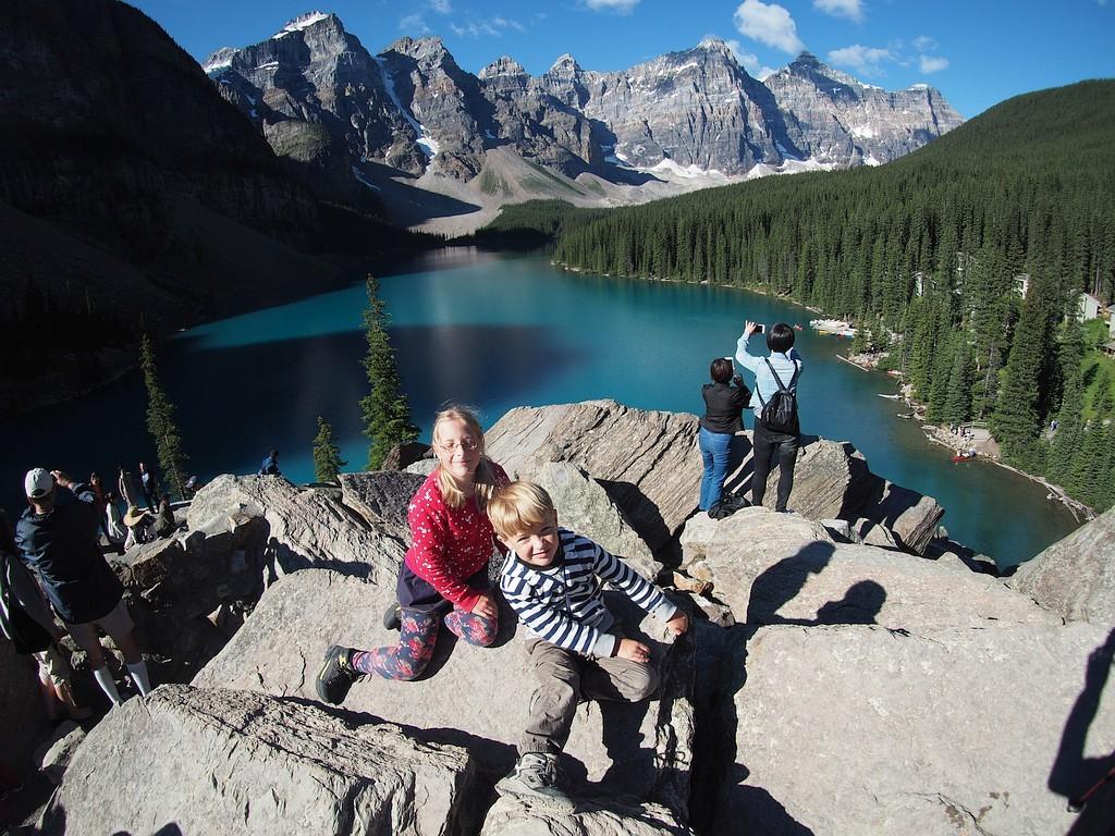 Banff Lake Moraine