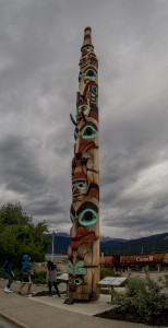 indijanski totem v kraju Jasper