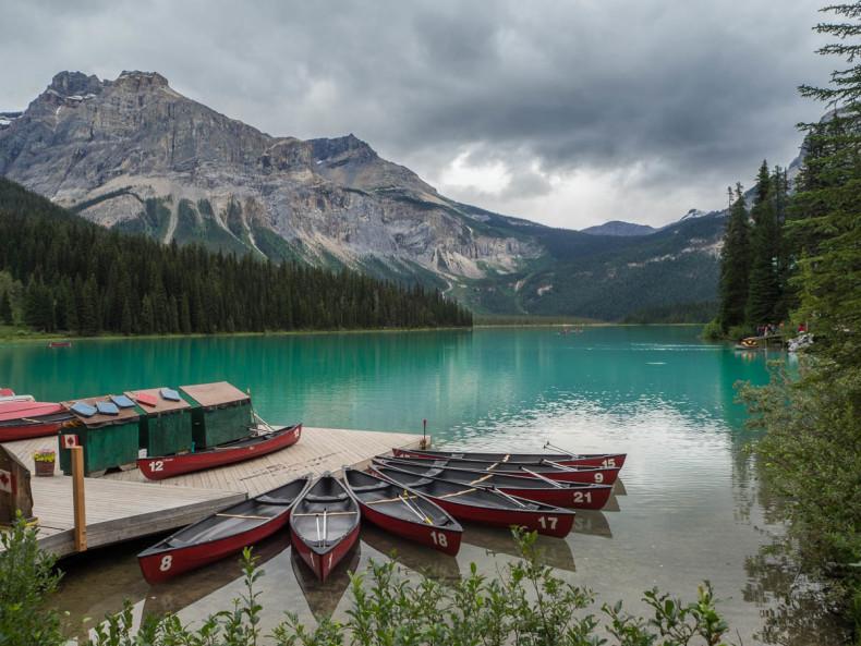 Yoho narodni park Emerald Lake