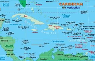 KaribiZemljevid