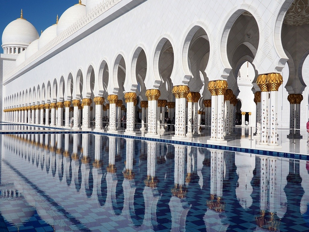 Abu Dhabi - mošeja Al Zayed